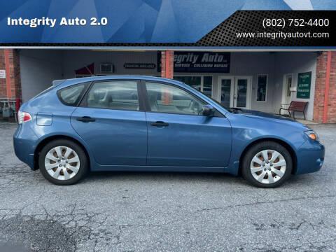 2008 Subaru Impreza for sale at Integrity Auto 2.0 in Saint Albans VT