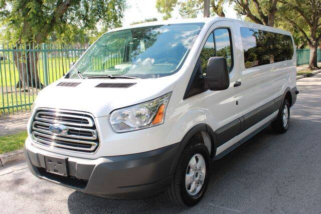 2018 Ford Transit Passenger for sale at OCEAN AUTO SALES in Miami FL