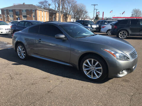 2013 Infiniti G37 Coupe for sale at TOWER AUTO MART in Minneapolis MN