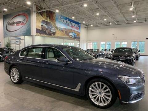 2016 BMW 7 Series for sale at Godspeed Motors in Charlotte NC