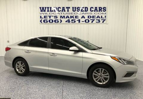 2017 Hyundai Sonata for sale at Wildcat Used Cars in Somerset KY