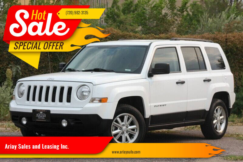 2016 Jeep Patriot for sale at Ariay Sales and Leasing Inc. - Pre Owned Storage Lot in Glendale CO