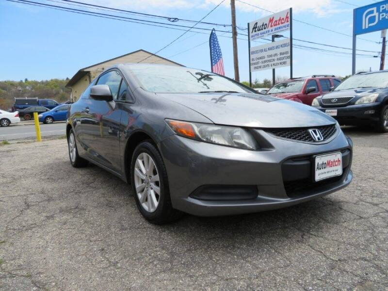 2012 Honda Civic for sale at Auto Match in Waterbury CT