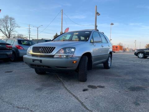 1999 Lexus RX 300 for sale at HIGHLINE AUTO LLC in Kenosha WI