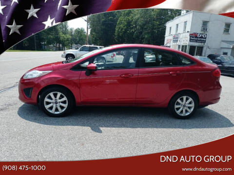 2011 Ford Fiesta for sale at DND AUTO GROUP 2 in Asbury NJ