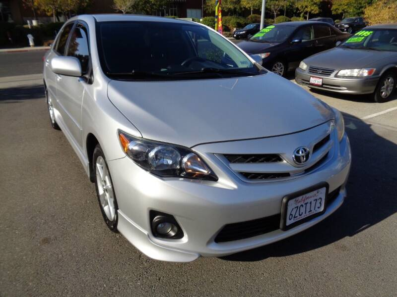 2013 Toyota Corolla for sale at NorCal Auto Mart in Vacaville CA
