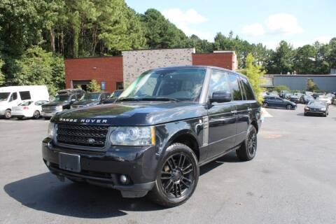 2011 Land Rover Range Rover for sale at Atlanta Unique Auto Sales in Norcross GA