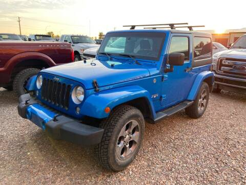2016 Jeep Wrangler for sale at Truck Buyers in Magrath AB