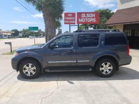 2012 Nissan Pathfinder for sale at Olson Motors LLC in Saint Augustine FL