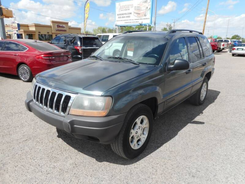 2003 Jeep Grand Cherokee for sale at AUGE'S SALES AND SERVICE in Belen NM