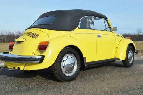 1975 Volkswagen Beetle Convertible for sale at AB Classics in Malone NY