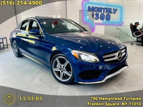 2018 Mercedes-Benz C-Class for sale at LUXURY MOTOR CLUB in Franklin Square NY