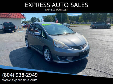 2010 Honda Fit for sale at EXPRESS AUTO SALES in Midlothian VA