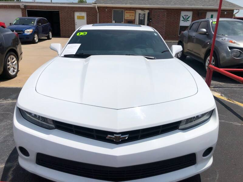 2015 Chevrolet Camaro for sale at Moore Imports Auto in Moore OK