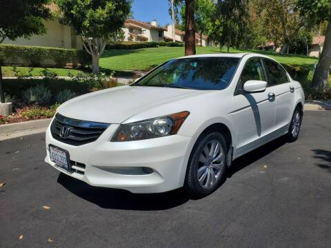 2012 Honda Accord for sale at E MOTORCARS in Fullerton CA