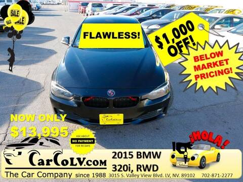 2015 BMW 3 Series for sale at The Car Company in Las Vegas NV