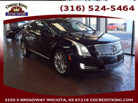 2013 Cadillac XTS for sale at Credit King Auto Sales in Wichita KS