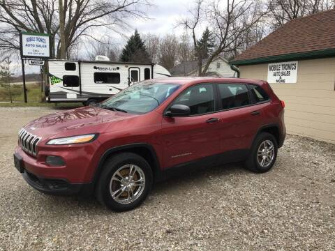 2014 Jeep Cherokee for sale at Mobile-tronics Auto Sales in Kenockee MI