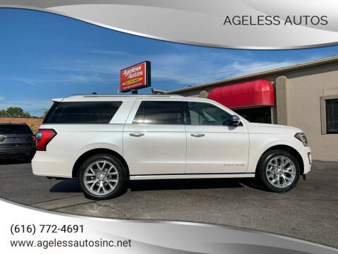2018 Ford Expedition MAX for sale at Ageless Autos in Zeeland MI