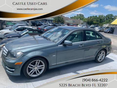 2012 Mercedes-Benz C-Class for sale at Castle Used Cars in Jacksonville FL