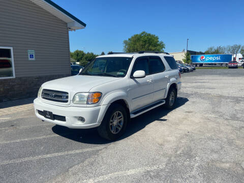 2004 Toyota Sequoia for sale at US5 Auto Sales in Shippensburg PA