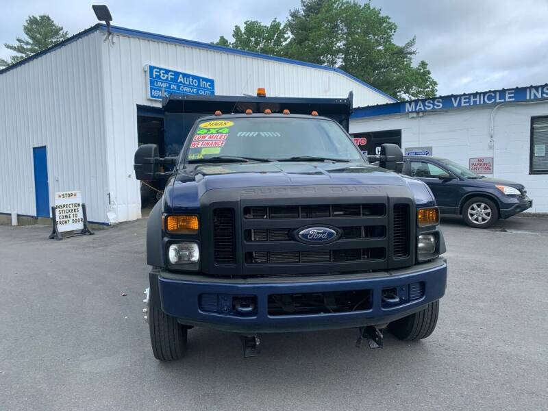 2008 Ford F-450 Super Duty for sale at F&F Auto Inc. in West Bridgewater MA