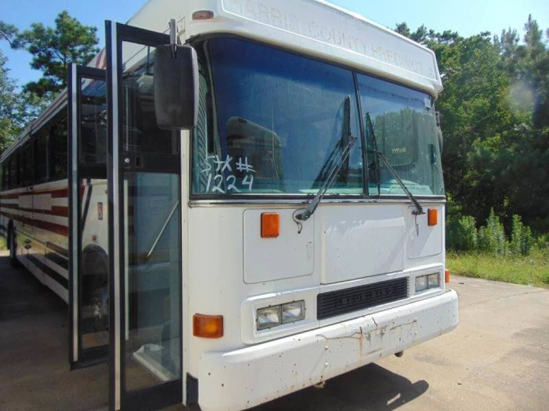 2001 Blue Bird ALL AMERICAN   A/C for sale at Global Bus Sales & Rentals in Alice TX