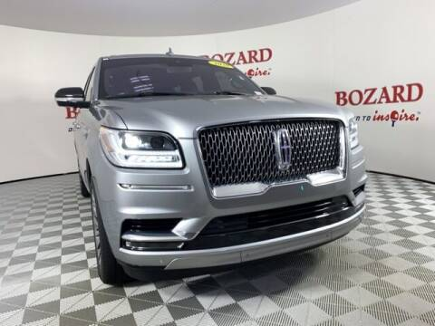 2020 Lincoln Navigator for sale at BOZARD FORD in Saint Augustine FL