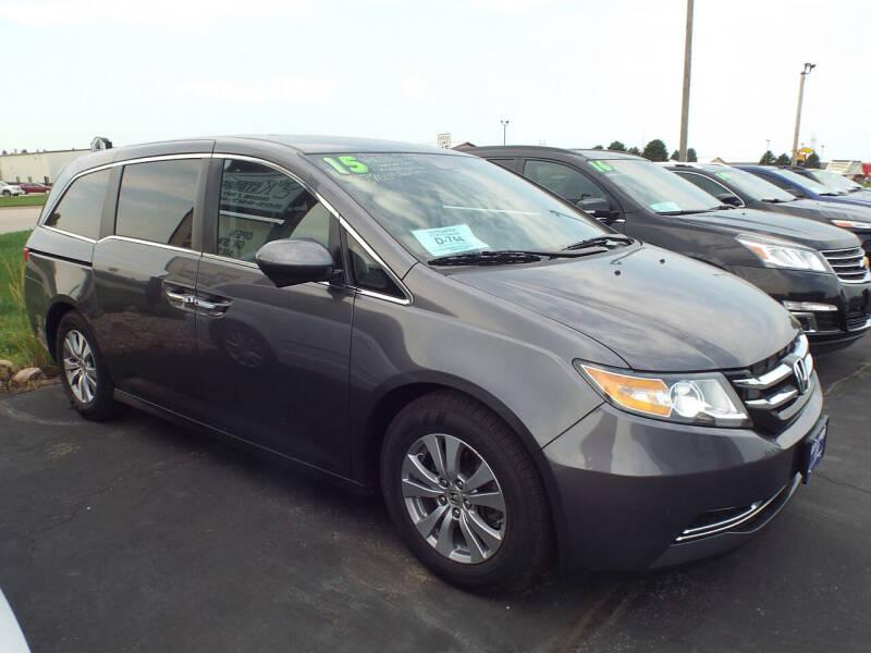 2015 Honda Odyssey for sale at G & K Supreme in Canton SD