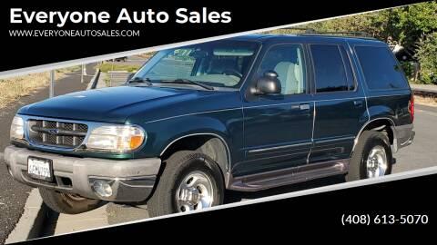 1999 Ford Explorer for sale at Everyone Auto Sales in Santa Clara CA