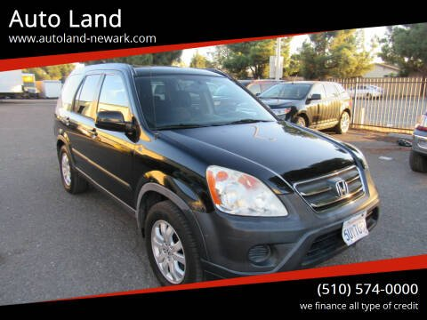 2006 Honda CR-V for sale at Auto Land in Newark CA