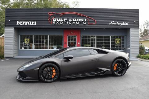 2015 Lamborghini Huracan for sale at Gulf Coast Exotic Auto in Biloxi MS