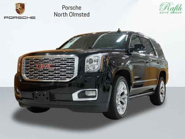 2020 GMC Yukon for sale at Porsche North Olmsted in North Olmsted OH