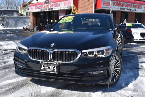2018 BMW 5 Series for sale at Foreign Auto Imports in Irvington NJ