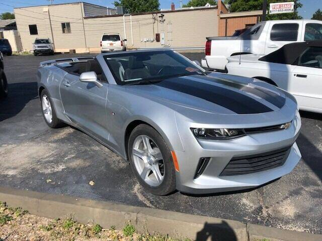 2017 Chevrolet Camaro for sale at RT Auto Center in Quincy IL