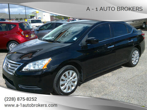 2015 Nissan Sentra for sale at A - 1 Auto Brokers in Ocean Springs MS