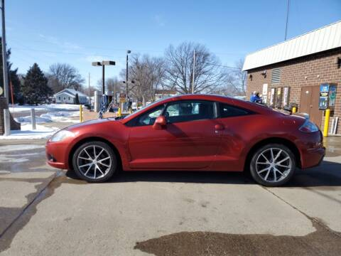 2012 Mitsubishi Eclipse for sale at RIVERSIDE AUTO SALES in Sioux City IA