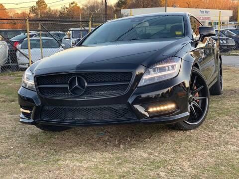 2014 Mercedes-Benz CLS for sale at Atlanta Fine Cars in Jonesboro GA