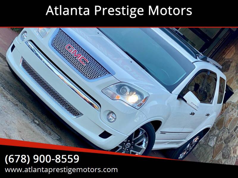 2011 GMC Acadia for sale at Atlanta Prestige Motors in Decatur GA
