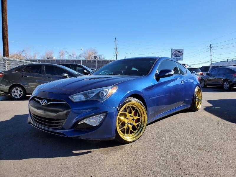 2015 Hyundai Genesis Coupe for sale at LA Motors LLC in Denver CO