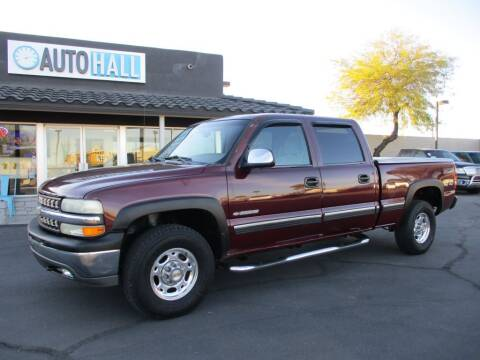 2001 Chevrolet Silverado 1500HD for sale at Auto Hall in Chandler AZ