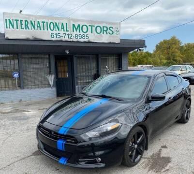 2013 Dodge Dart for sale at International Motors Inc. in Nashville TN