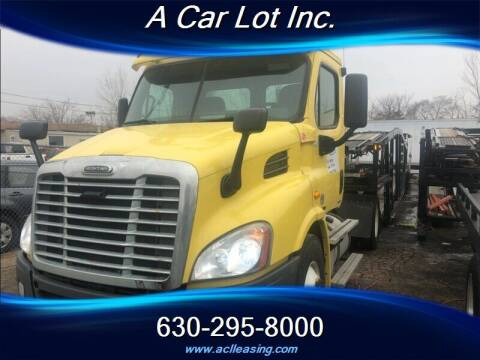 2011 Freightliner Cascadia for sale at A Car Lot Inc. in Addison IL
