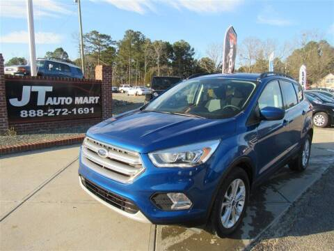 2017 Ford Escape for sale at J T Auto Group in Sanford NC