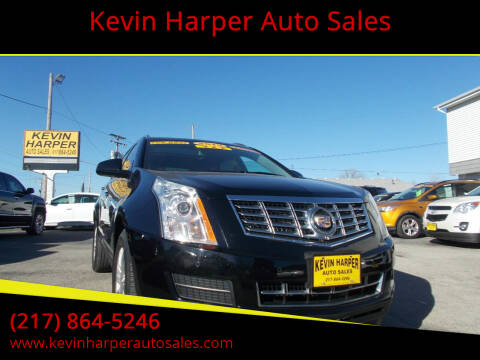 2015 Cadillac SRX for sale at Kevin Harper Auto Sales in Mount Zion IL