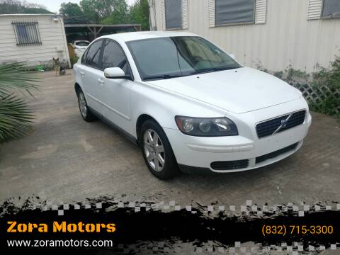 2006 Volvo S40 for sale at Zora Motors in Houston TX