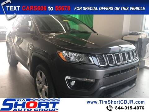 2021 Jeep Compass for sale at Tim Short Chrysler in Morehead KY