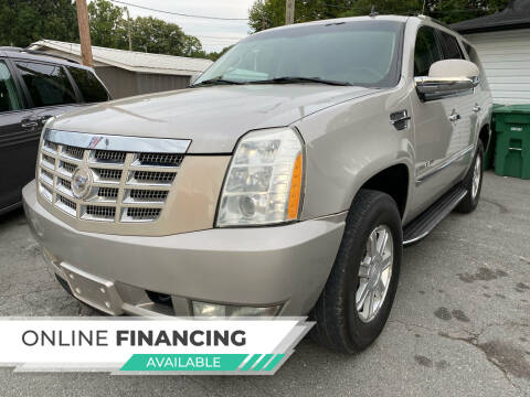 2007 Cadillac Escalade for sale at Auto Store of NC in Walkertown NC