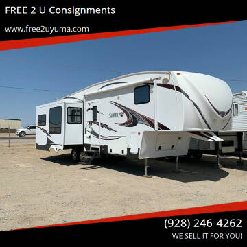 2012 Palomino Sabre for sale at FREE 2 U Consignments in Yuma AZ
