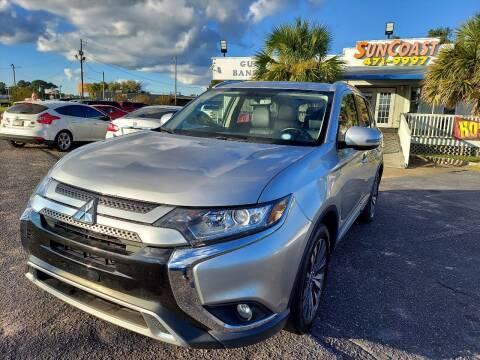 2019 Mitsubishi Outlander for sale at Sun Coast City Auto Sales in Mobile AL
